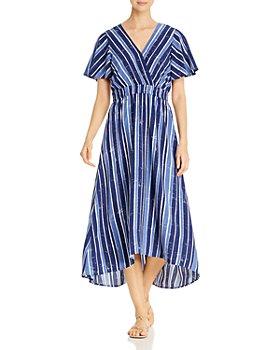 Tommy Bahama - Striped High/Low Dress