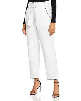 rag & bone - Super High-Rise Paperbag-Waist Jeans