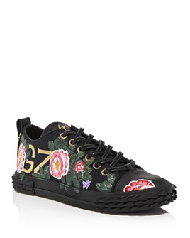 Giuseppe Zanotti - x Swae Lee Men's Floral Blabber Low-Top Sneakers