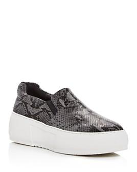 J/Slides - Women's Cleo Slip-On Platform Sneakers