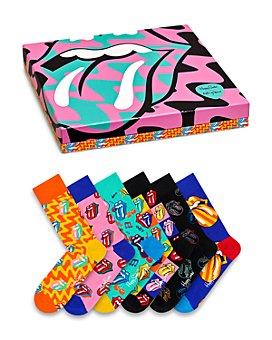 Happy Socks - Rolling Stones Socks Gift Set - Box of 6