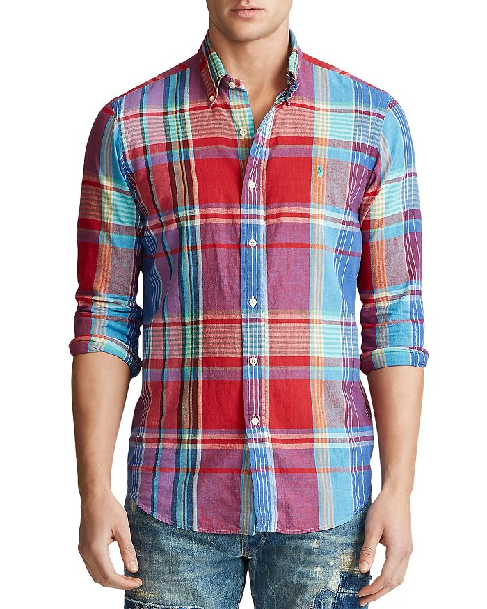 Polo Ralph Lauren - Classic Fit Madras Shirt