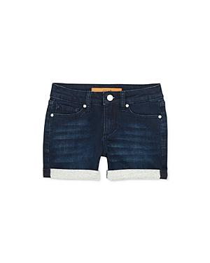 Joe's Jeans Girls' The Markie Mid-Rise Roll-Cuff Denim Shorts - Big Kid