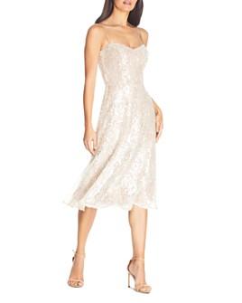 Dress the Population - Antonia Sequin Midi Dress