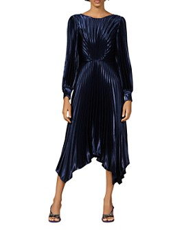 Sandro - Venezia Pleated Midi Dress