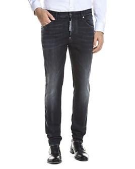 DSQUARED2 - Skater Skinny Fit Skater Jeans in Black