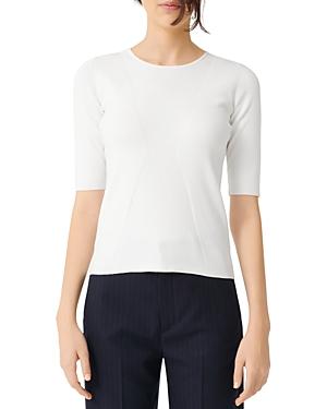 Maje Musa Short-Sleeve Sweater-Women