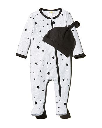 Bloomie's - Unisex Star Print Coverall & Hat Set, Baby - 100% Exclusive