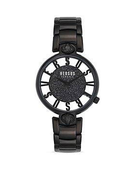 Versus Versace - Versus Kirstenhof Black Link Bracelet Watch, 36mm