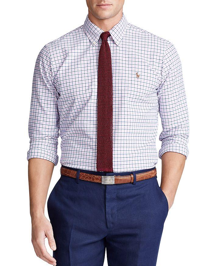Polo Ralph Lauren - Classic Fit Tattersall Button-Down Oxford Shirt