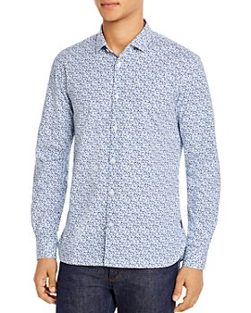 John Varvatos Star USA - Ross Slim Fit Floral Shirt