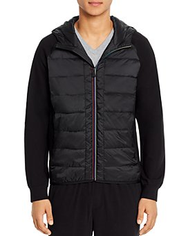 PS Paul Smith - Mixed-Media Regular Fit Jacket