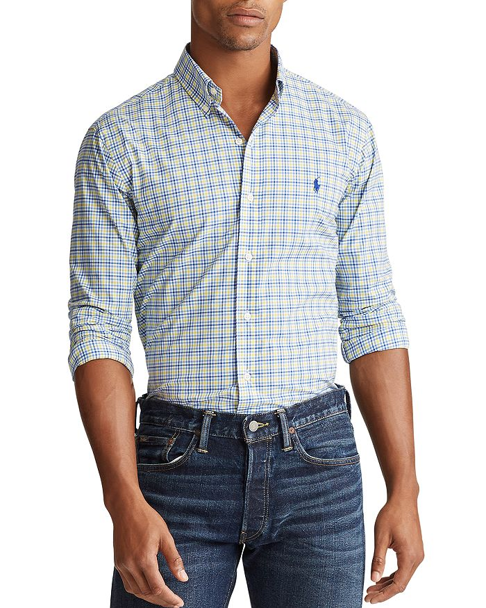 Polo Ralph Lauren - Slim Fit Gingham Button-Down Oxford Shirt