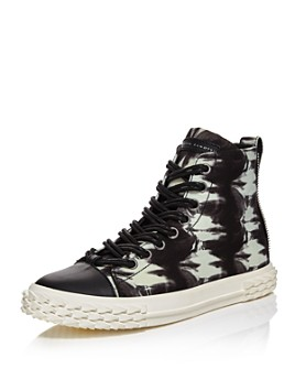 Giuseppe Zanotti - Men's Blabber Tie-Dye High-Top Sneakers