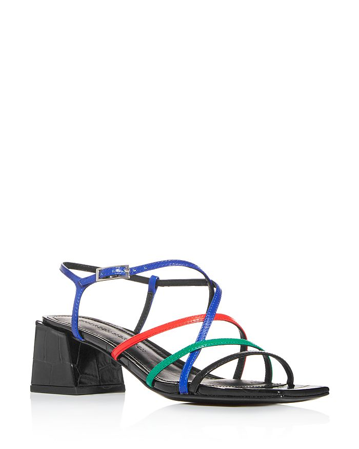 Sigerson Morrison - Women's Ellia Strappy Block-Heel Sandals