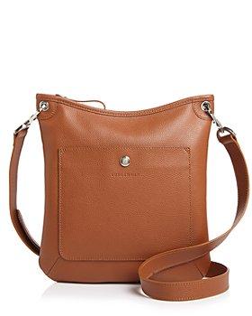 Longchamp - Le Foulonné Flat Leather Crossbody
