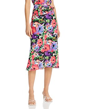 Art Dealer - Olivia Silk-Blend Midi Skirt