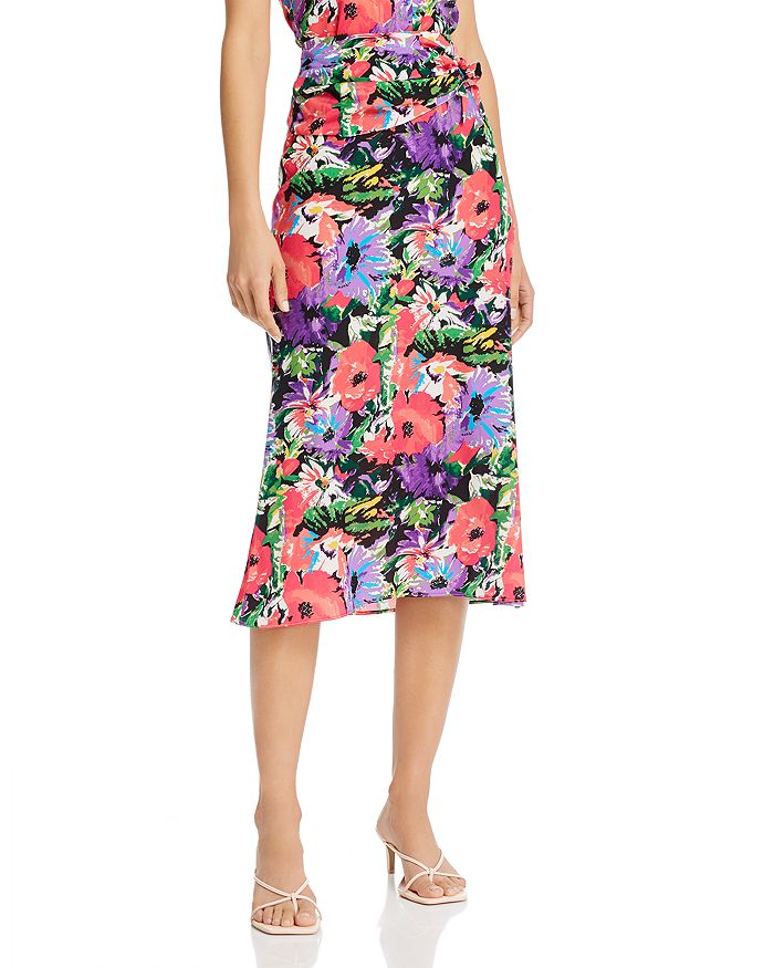 Art Dealer - Olivia Silk-Blend Midi Skirt