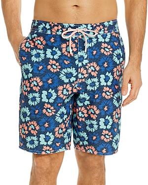 Johnnie-o Vessup Floral Print Swim Trunks-Men