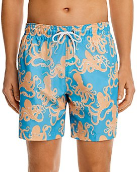 Trunks Surf & Swim Co. - Octopus Sano Print Swim Trunks