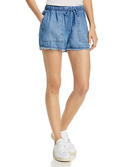 Bella Dahl - Frayed Drawstring Shorts