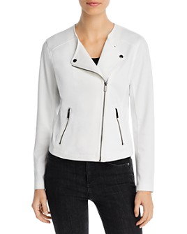 Bagatelle - Ponte Knit Biker Jacket