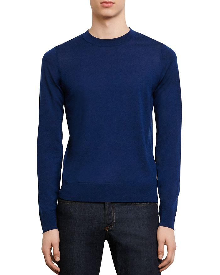 Sandro - Merino Wool Crewneck Sweater