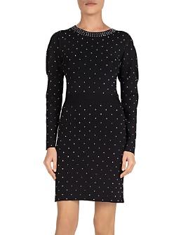 The Kooples - Studded Knit Dress