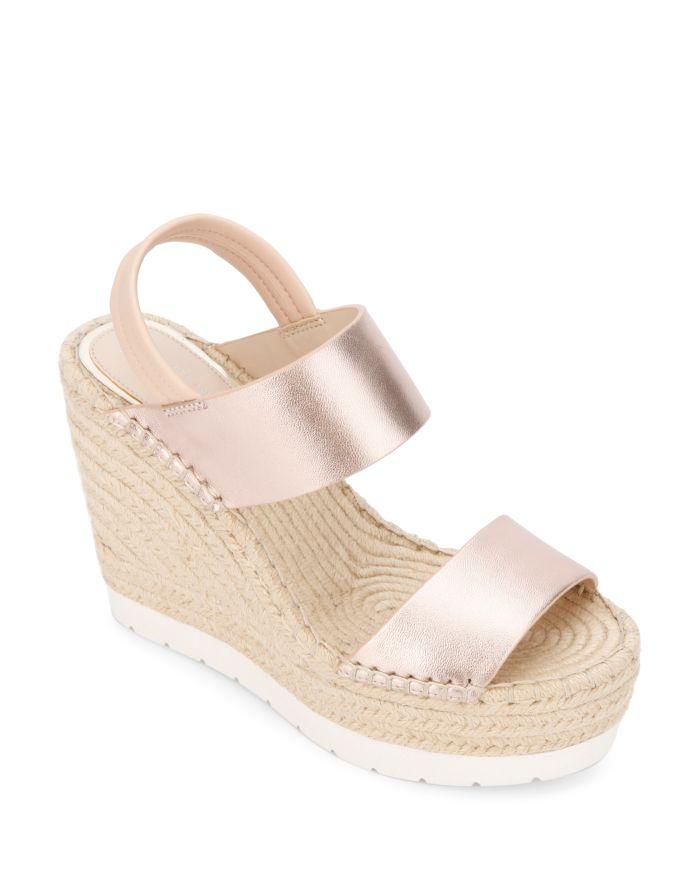 Kenneth Cole Women's Olivia Espadrille Wedge Heel Sandals    Bloomingdale's