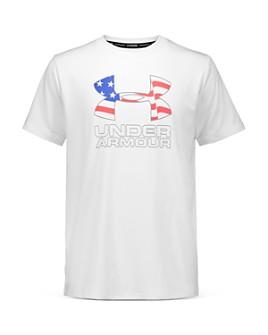 Under Armour - Boys' Americana Logo Swim Top - Big Kid