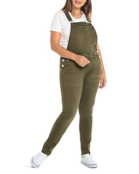 SLINK Jeans Plus - Slim-Leg Overalls