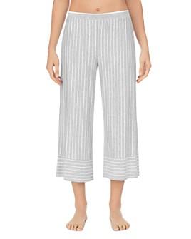 Donna Karan - Striped Capri Pants