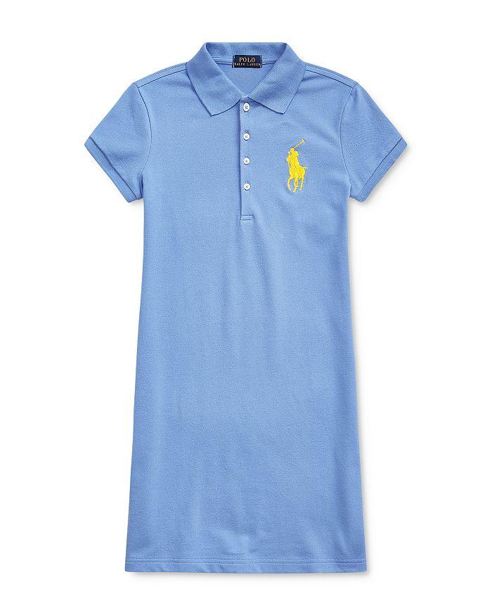 Ralph Lauren - Girls' Big Pony Polo Dress - Big Kid