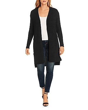 Vince Camuto Button-Side Open Front Cardigan