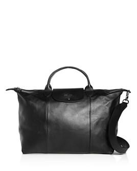 Longchamp - Le Pliage Cuir Large Leather Shoulder Bag