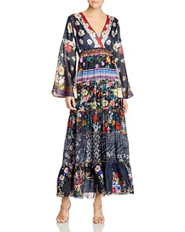 Johnny Was - Dunas Silk Printed Dress