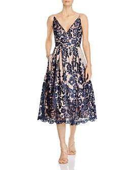 Eliza J - V-Neck Lace Dress