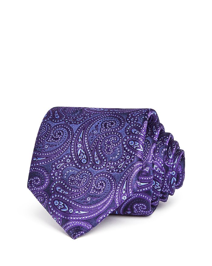 Ted Baker - Tonal Paisley Silk Classic Tie