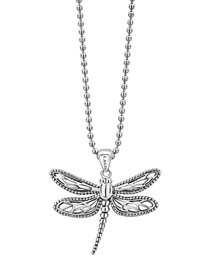 Lagos Sterling Silver Rare Wonders Dragonfly Pendant Necklace, 34-Jewelry & Accessories