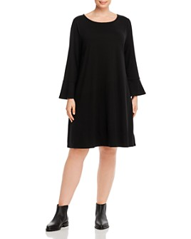 Eileen Fisher Plus - Bell-Sleeve Dress