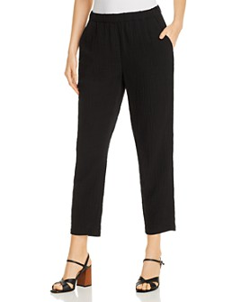 Eileen Fisher - Organic Cotton Ankle Pants