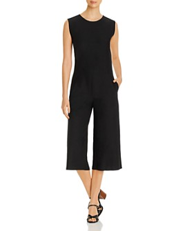Eileen Fisher Petites - Sleeveless Cropped Jumpsuit