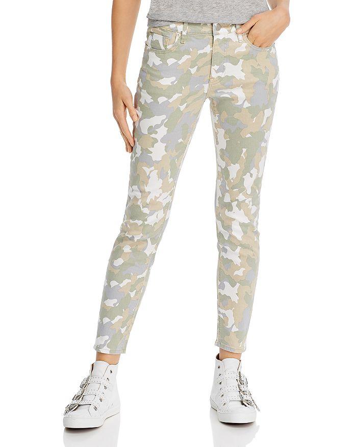 AQUA - Camo Print Skinny Jeans - 100% Exclusive