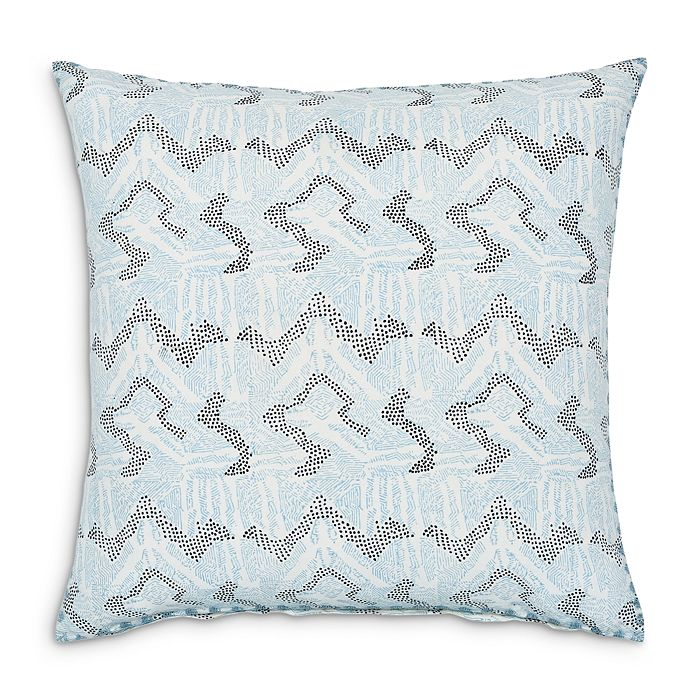 "John Robshaw - Dulina Lapis Decorative Pillow, 26"" x 26"""