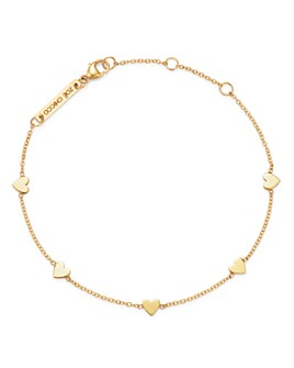 Zoë Chicco - 14K Gold Itty Bitty Heart Bracelet