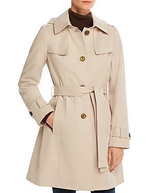 Via Spiga Shield Belted Trench Coat-Women