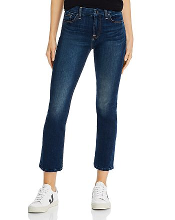 7 For All Mankind - Straight-Leg Ankle Jeans in Providence