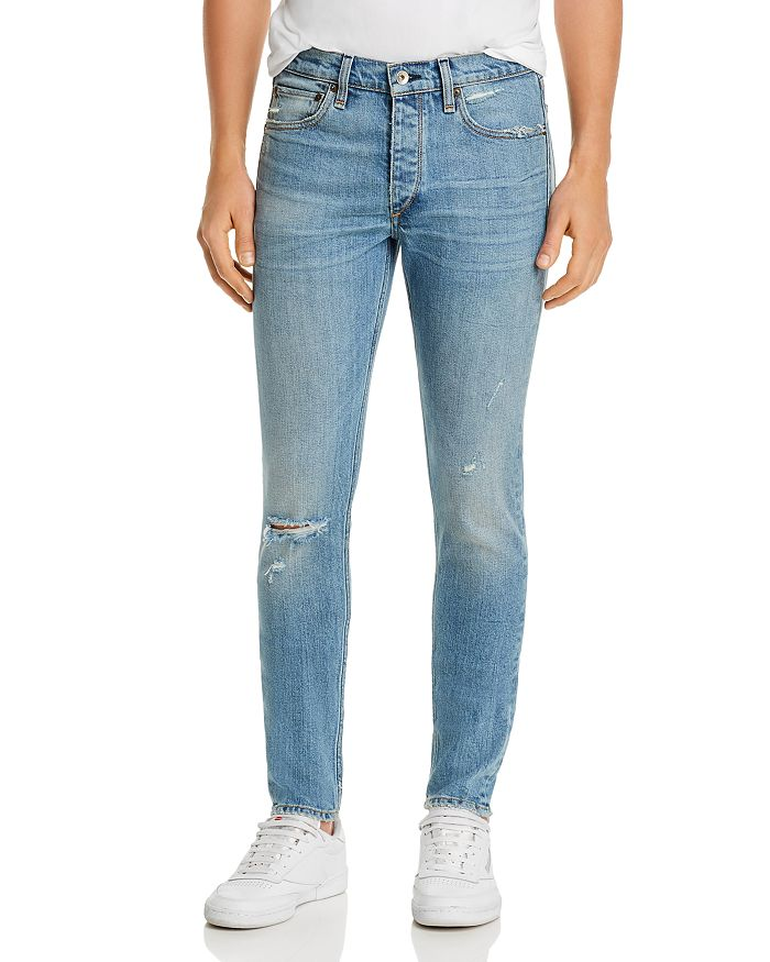 rag & bone - Fit 1 Skinny Fit Jeans in Fire Island