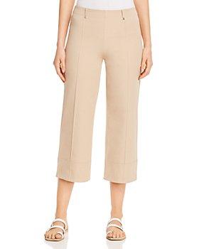 Lyssé - Giorgia Wide-Leg Pants in Khaki