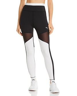 PUMA - Be Bold High-Rise Color-Block Leggings